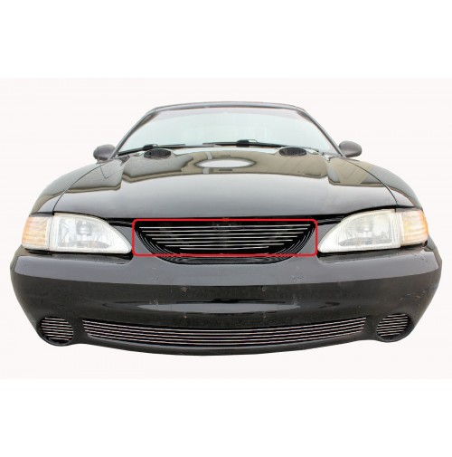 1996 Ford Mustang Cobra 1Pc Upper Billet Grille